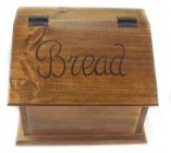 Bread Box with Script Writing