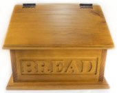 Bread Box with Engraved Writing